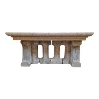 18th Century Gothic Stone Table