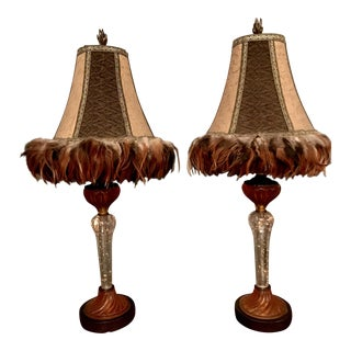 Braumbaugh's Table or Buffet Lamps - A Pair