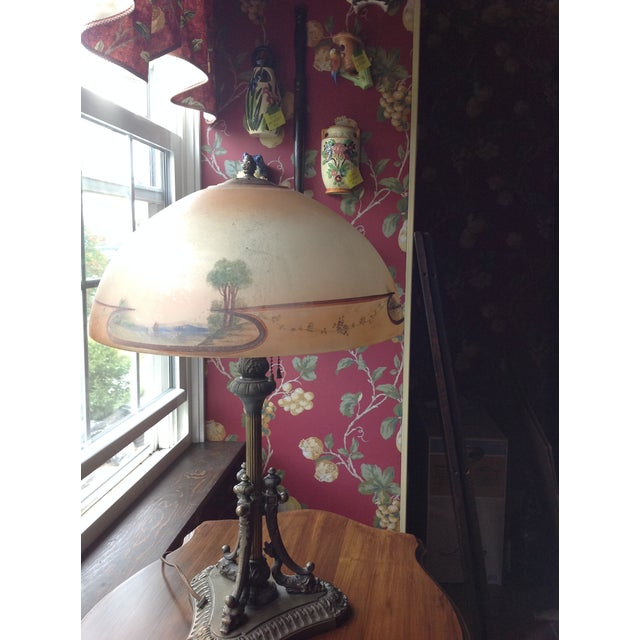 Obverse Painted Table Lamp - Image 8 of 8