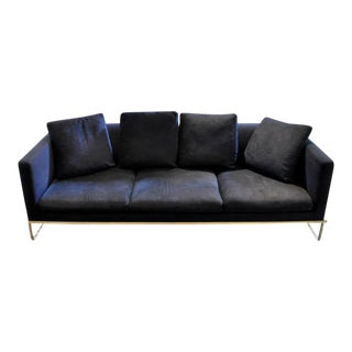B&b Italia Tight Sofa and Ottoman - A Pair