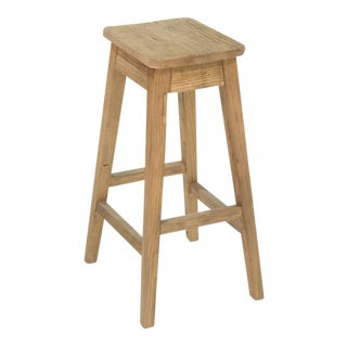 Sarreid Ltd. Country Clipped Corners Counter Stool