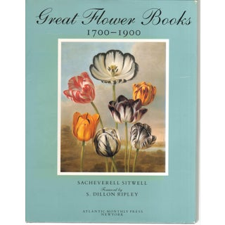 Finely-Illustrated Flower Books: 1700-1900