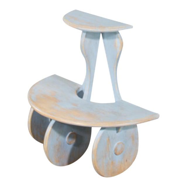 Sarreid Ltd Demilune Side Table - Image 1 of 5