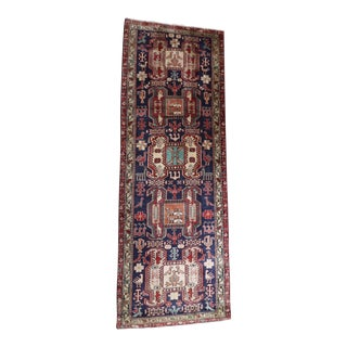 Liberty Semi Antique Ardabil Persian Runner - 3′5″ × 9′6″
