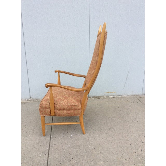 Edward Wormley High Back Lounge Chair - Image 4 of 8