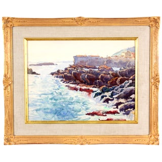 Monory The Coast of France Painting