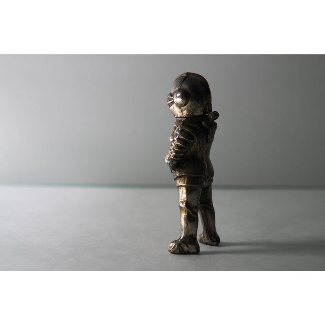 Vintage Silver-Tone Metal Knight Lighter - Image 3 of 6