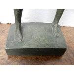 Image of Faux Bronze Female Sculpture