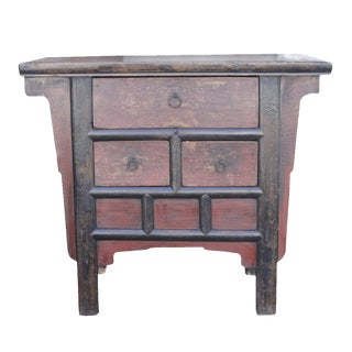 Shanxi Red Elm Money Dresser