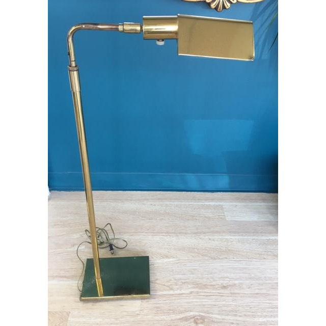 Mid-Century Koch & Lowy Adjustable Floor Lamp - Image 2 of 9