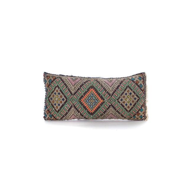 Moroccan Berber Wool Pillow - Image 2 of 3