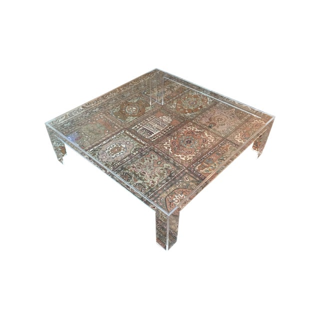 Kartell Invisible Square Coffee Table