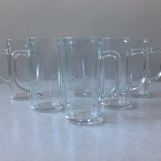 French Pint Beer Mugs - Set of 6 - Image 3 of 6