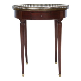 Augras Louis XVI Style Bouillotte Table