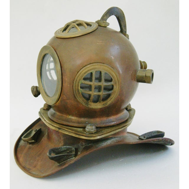 1960's Nautical Brass Diving Helmet - Image 5 of 9