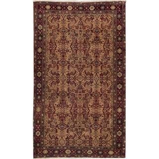 "Apadana - Antique Indian Agra Rug, 3'10"" x 6'7"""
