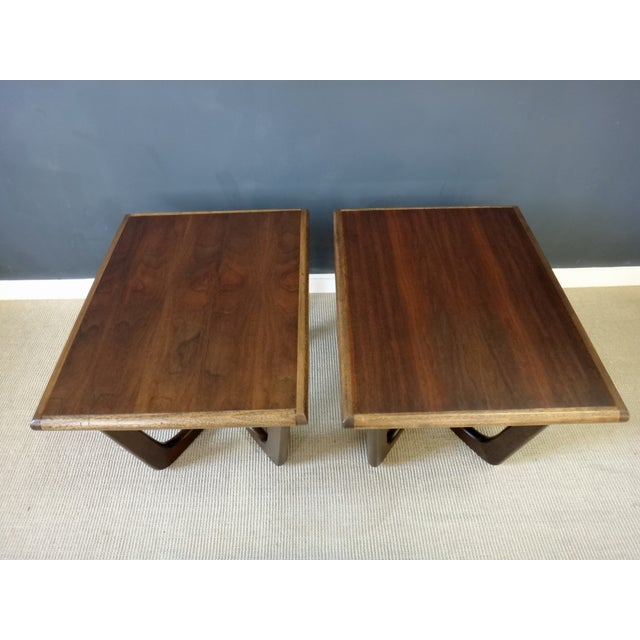 Pair of Adrian Pearsall Side Tables - Image 4 of 5