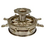 Image of Nautical Metal Candleholders - Pair