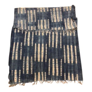 Indigo African Vintage Throw