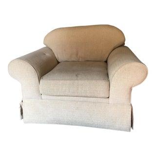 Beige Small Club Chair