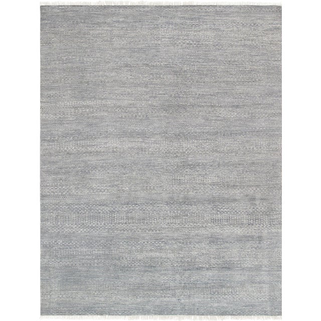 "Image of Pasargad Transitional Silk & Wool Rug- 8' 8"" X 11'10"""