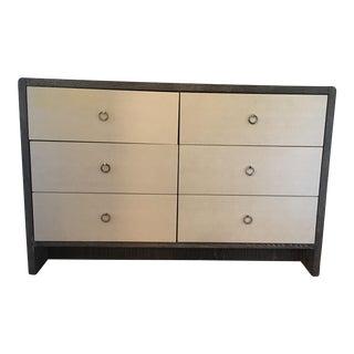 Pretty Grey-Washed 6-Drawer Dresser