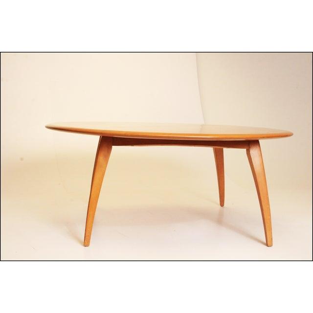 Heywood Wakefield Mid Century Coffee Table End Tables: Mid-Century Modern Heywood Wakefield Blonde Coffee Table