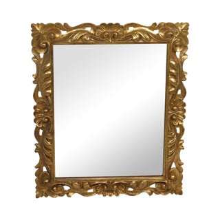 Vintage Italian Giltwood Wall Mirror