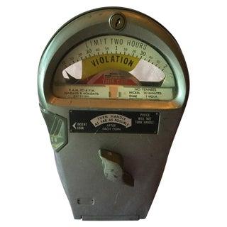 Vintage Authentic Parking Meter