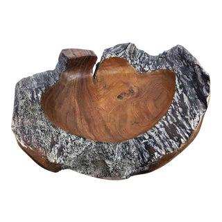 Handmade Teak Wooden Bowl