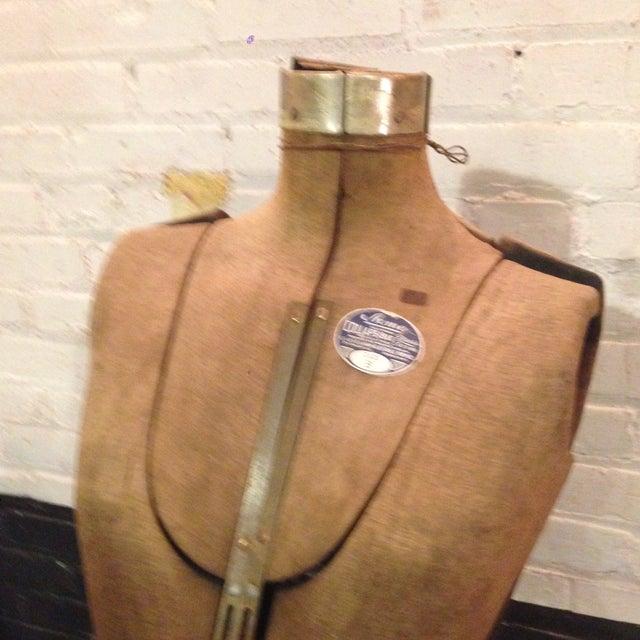 Antique Adjustable Dress Form Mannequin - Image 5 of 11