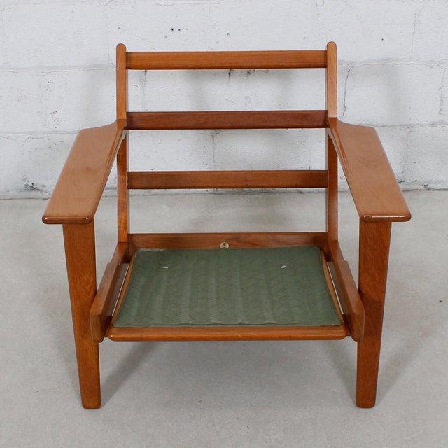 Hans Wegner For Getama Lounge Chair & Ottoman - Image 6 of 10