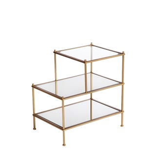 Jayden 3 Tiers Mirrored End Table