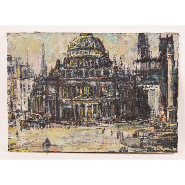 Image of Edwin Becker Paris Opera Impressionist Painting