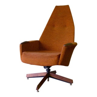Adrian Pearsall for Craft Associates Tufted Lounge Chair