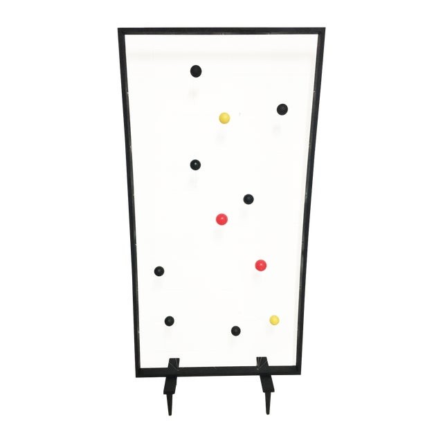 Mid-Century Modern Style Screen Room Divider - Image 1 of 7