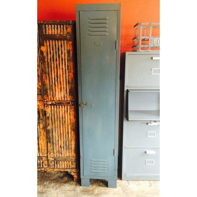French Vintage 1 Door Locker - Image 2 of 7