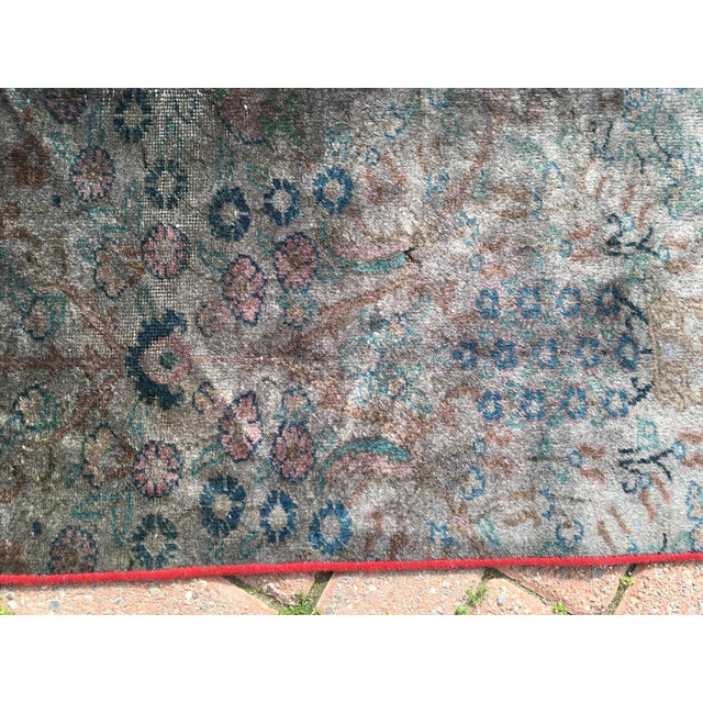 Overdyed Turkish Runner Rug - 2′8″ × 12′8″ - Image 7 of 9