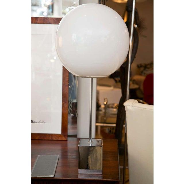 Robert Sonneman 1960's Globe Lamp - A Pair - Image 2 of 6