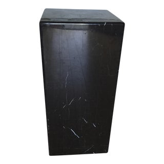 Onyx Marble Pedestal Stand