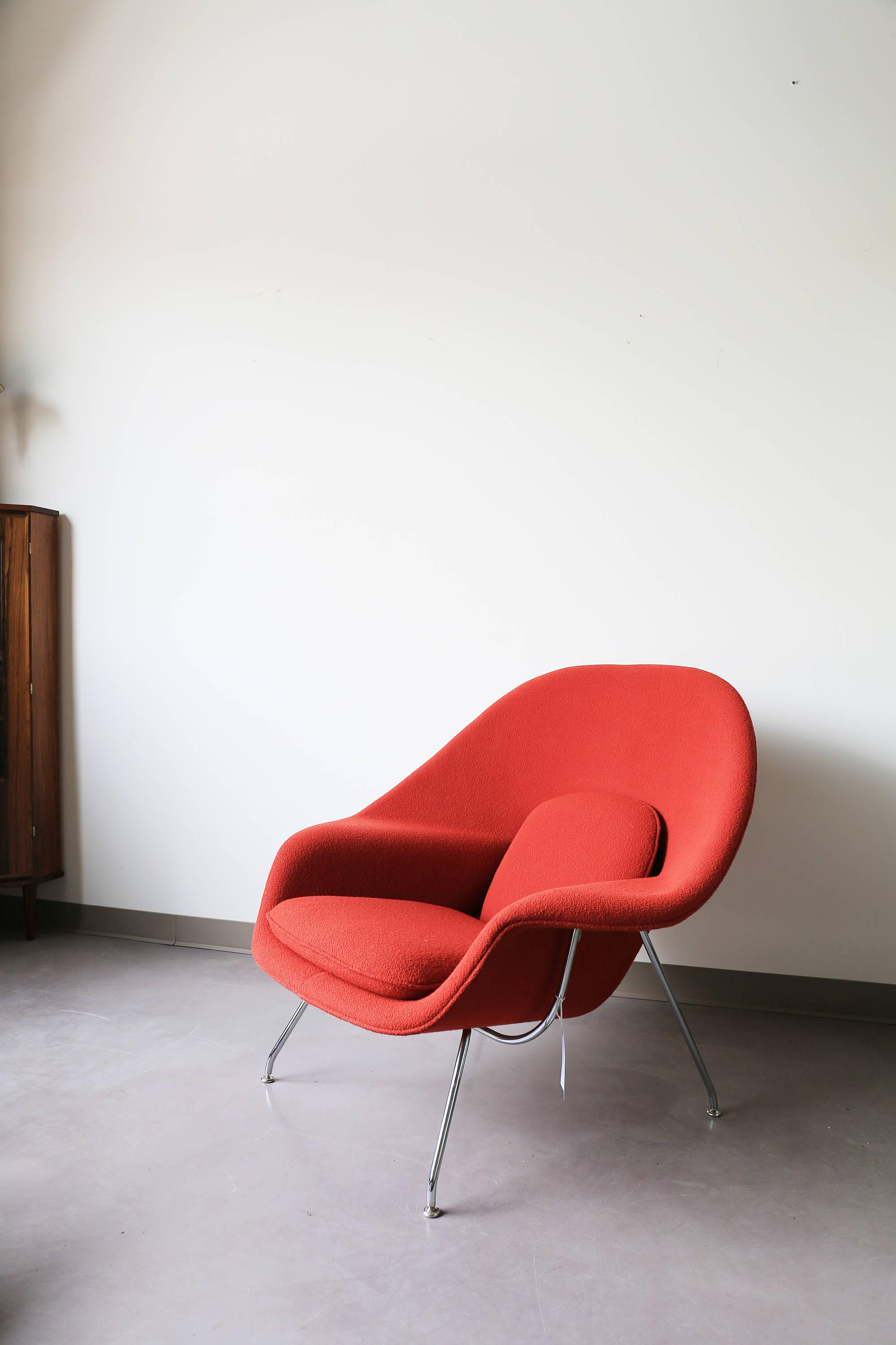 eero saarinen for knoll womb chair image 2 of 6