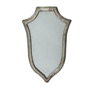 Vintage Silver Viking Mirror