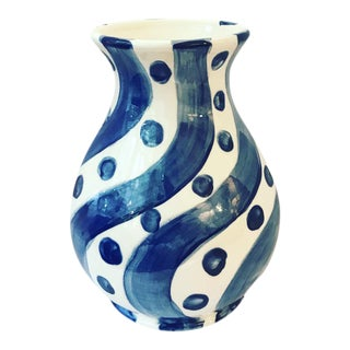 Porcelain Sally Squiggle Vase