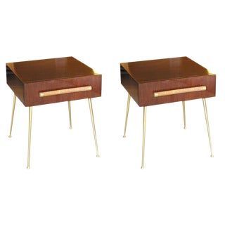 Glove Box Nightstands by T.H. Robsjohn-Gibbings for Widdicomb