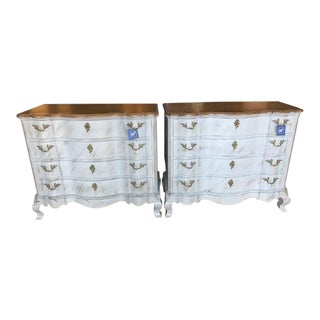 Century Furniture Rustic Chests - A Pair