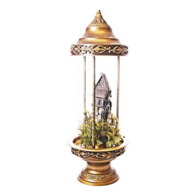 Image of Mid Century Hollywood Regency Mineral Oil Rain Lamp