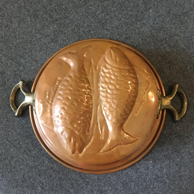 Vintage Copper Pisces Mold - Image 2 of 7