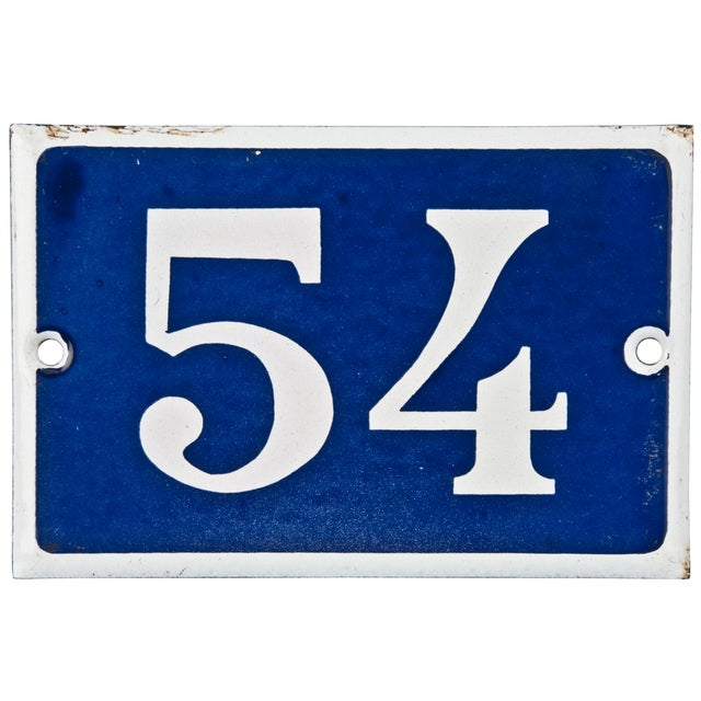 Image of French Porcelain House Number 54