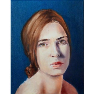 Oil Portrait of a Young Woman