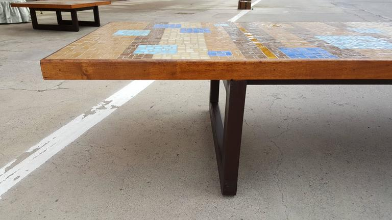 Outstanding Large Scale Mosaic Tile Coffee Table   Image 5 Of 9